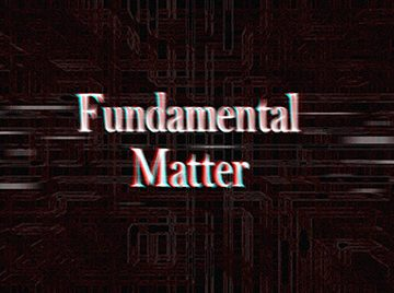 Fundamental Matter Ralph K Jones Book Series
