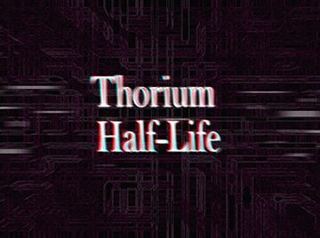 Thorium Half-Life Ralph K Jones Book Series